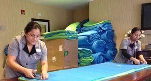 """""""Marriott TownePlace Suites Blankets Children"""""""